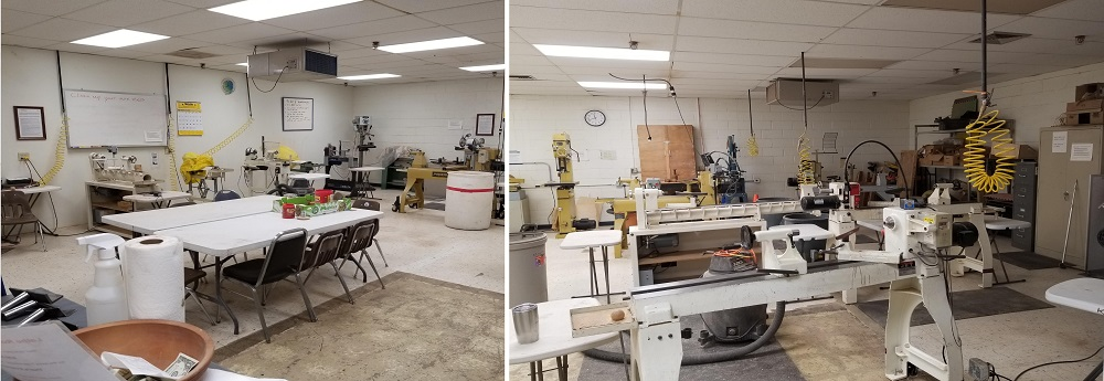 Lathe Room Cleanup 3-6-2021